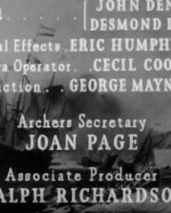 Main title from The Silver Fleet (1943) (7)