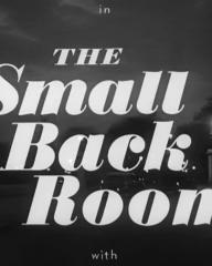 Main title from The Small Back Room (1949) (6)