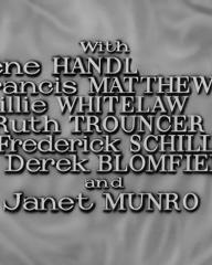 Main title from Small Hotel (1957) (5). Irene Handl, Francis Matthews, Billie Whitelaw, Ruth Trouncer, Frederick Schiller, Derek Blomfield