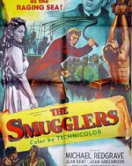 American poster for The Smugglers [The Man Within] (1947) (1)