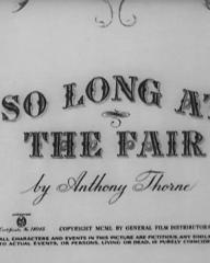 Main title from So Long at the Fair (1950) (4)