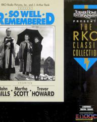 Laser disc of So Well Remembered (1947) (1)
