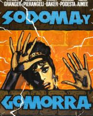Spanish poster for Sodom and Gomorrah (1962) (1)