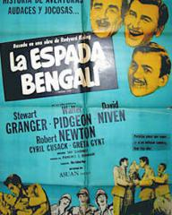 Argentine poster for Soldiers Three (1951) (1)