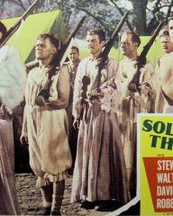Lobby card from Soldiers Three (1951) (4)