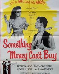 Poster for Something Money Can't Buy (1952) (1)