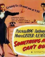 Poster for Something Money Can't Buy (1952) (2)