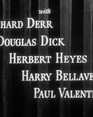 Main title from Something to Live For (1952) (4). Richard Derr, Douglas Dick, Herbert Heyes, Harry Bellaver, Paul Valentine