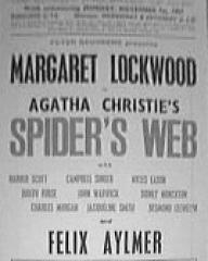 Poster for Spider's Web (1954) (1)