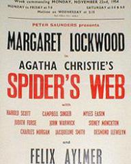 Poster for Spider's Web (1954) (2)