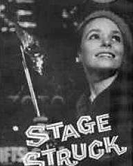 Susan Strasberg (as Eva Lovelace) in a video cover from Stage Struck (1958) (2)