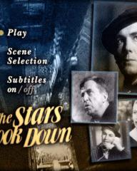 DVD cover of The Stars Look Down (1940) (1)