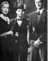 Photograph from The Stars Look Down with Margaret Lockwood, Emlyn Williams and Michael Redgrave