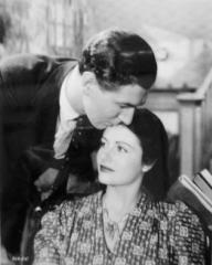 Michael Redgrave (as Davey Fenwick) and Margaret Lockwood (as Jenny Sunley) in a photograph from The Stars Look Down (1940) (4)
