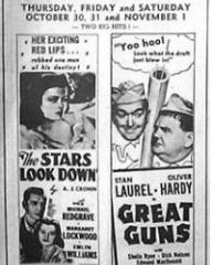 Poster for The Stars Look Down (1940) (3)