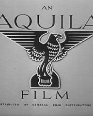 Main title from Stop Press Girl (1949) (1). An Aquila Film