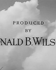 Main title from Stop Press Girl (1949) (11). Produced by Donald B Wilson