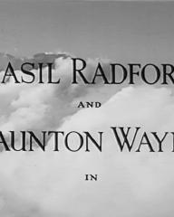Main title from Stop Press Girl (1949) (3). Basil Radford and Naunton Wayne in
