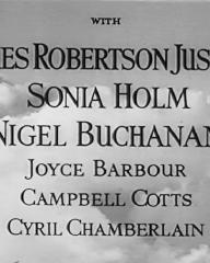 Main title from Stop Press Girl (1949) (5). With James Robertson Justice, Sonia Holm, Nigel Buchanan, Joyce Barbour, Campbell Cotts, Cyril Chamberlain