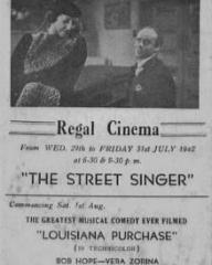 Poster for The Street Singer (1937) (4)