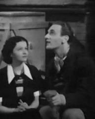 Margaret Lockwood (as Jenny Green) and Arthur Tracy (as Richard King) in a screenshot from The Street Singer (1937) (2)