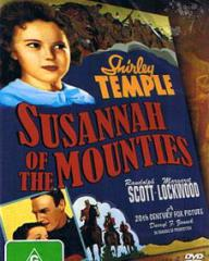 Australian DVD cover of Susannah of the Mounties (1939) (1)