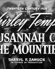 Main title from Susannah of the Mounties (1939)