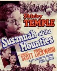 Poster for Susannah of the Mounties (1939) (3)