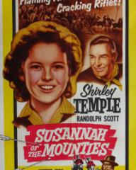 Poster for Susannah of the Mounties (1939) (5)