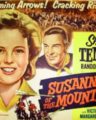 Poster for Susannah of the Mounties (1939) (6)