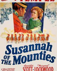 Poster for Susannah of the Mounties (1939) (7)