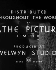 Main title from Suspected Person (1942) (5). Distributed throughout the world by Pathe Pictures Limited. Produced at Welwyn Studios