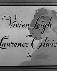 Main title from That Hamilton Woman (1941) (2).  Vivien Leigh and Laurence Olivier in