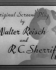 Main title from That Hamilton Woman (1941) (5).  Original screen play by Walter Reisch and R C Sherriff