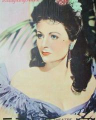 Theatre Weekly magazine with Margaret Lockwood in Laughing Anne.  1953.  (Japanese)