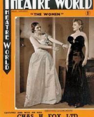 Theatre World magazine with Karen Peterson in The Women.  June, 1939.