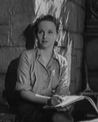 Joan Greenwood (as Ruth Blake) in a screenshot from They Knew Mr Knight (1944) (1)
