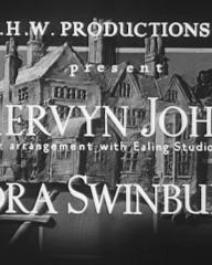 Main title from They Knew Mr Knight (1946) (2). G.H.W. Productions Ltd. present Mervyn Johns, Nora Swinburne
