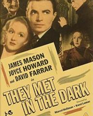 DVD cover of They Met in the Dark (1943) from Strawberry Media [2021] (1)