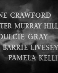 Main title from They Were Sisters (1945) (5).  Anne Crawford Peter Murray-Hill, Dulcie Gray, Barry Livesey, Pamela Kellino