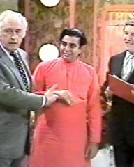Screenshot from This is Your Life with Stewart Granger, I S Johar and Eammon Andrews