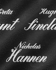 Main title from Three Steps in the Dark (1953) (2). Greta Gynt, Hugh Sinclair, Nicholas Hannen