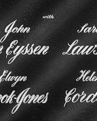 Main title from Three Steps in the Dark (1953) (4). John Van Eyssen, Sarah Lawson, Elwyn Brook-Jones, Hélène Cordet