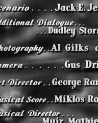 Main title from Thunder in the City (1937) (7)