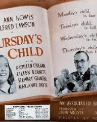 Poster for Thursday's Child (1943) (1)