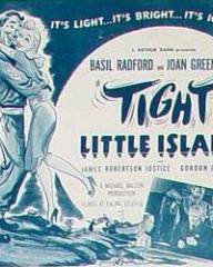 Lobby card from Tight Little Island (Whisky Galore!)
