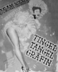 German poster for Tingel Tangel Grafin [Trottie True] (1949) (1)