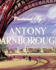 Main title from To Paris with Love (1955) (11).  Produced by Antony Darnborough