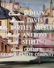Main title from To Paris with Love (1955) (6)