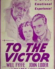 American poster for To The Victor [Owd Bob] (1938) (1)